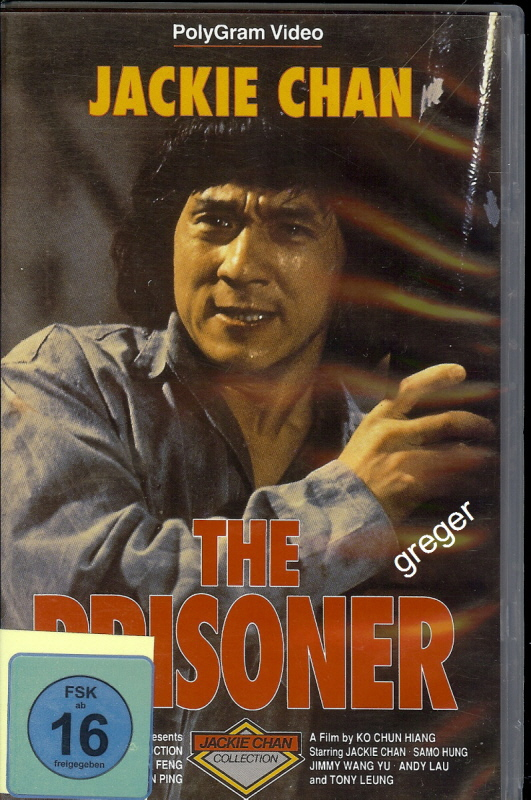 VHS Video Fllm-Jackie Chan-THE Prisoner - Nr.2