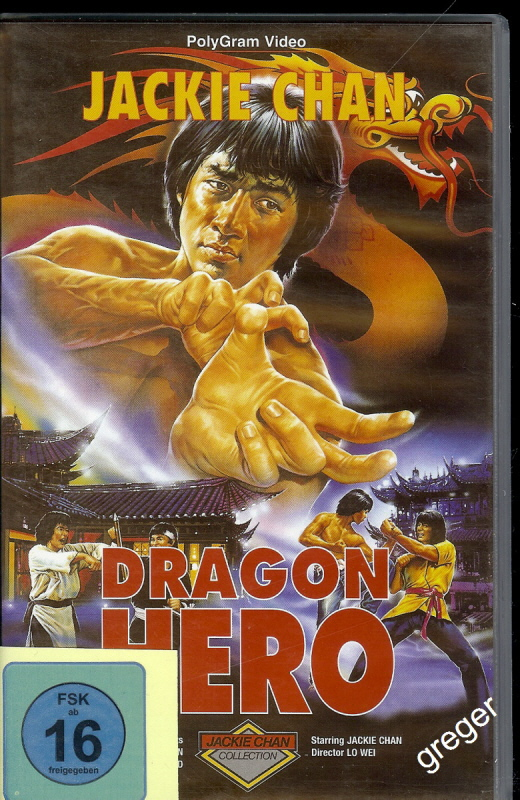 VHS Video Film-Jackie Chan-Dragon Hero - Nr.8
