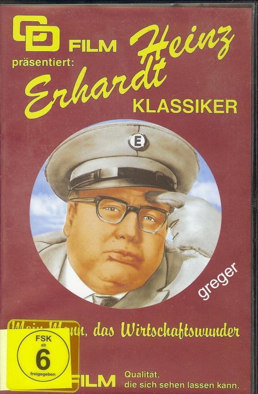 VHS Video Film-Heinz Erhardt Mein Mann, das Wirtschaftswunder Nr.12