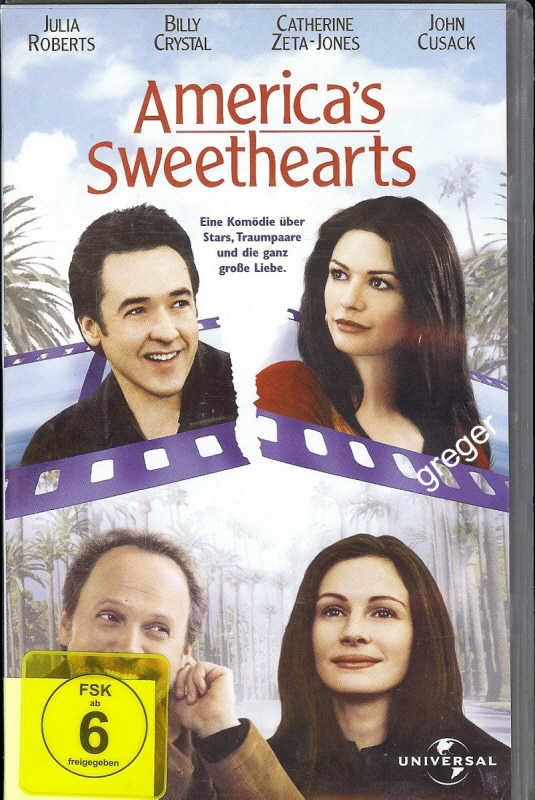 VHS Video Film-Americans Sweethearts - 17