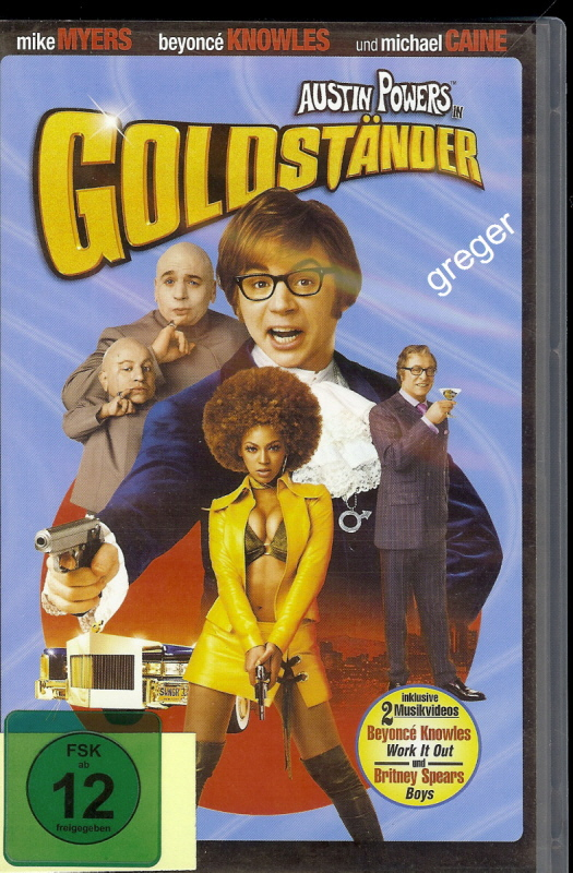 VHS Video Film- Goldständer - 19