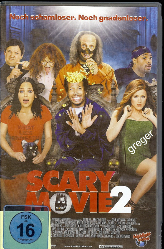 VHS Video Film- Scary Movie 2 - 21