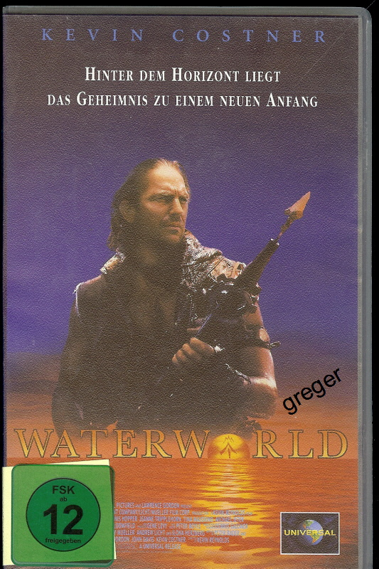 VHS Video Film- Waterworld - 26