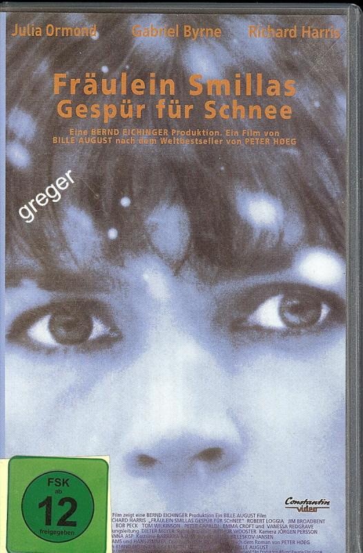VHS Video Film- Fräulein Smillas Gespür für Schnee - 28