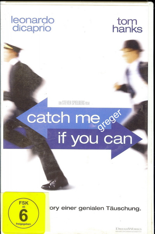 VHS Video Film- catch me if jou can - 29