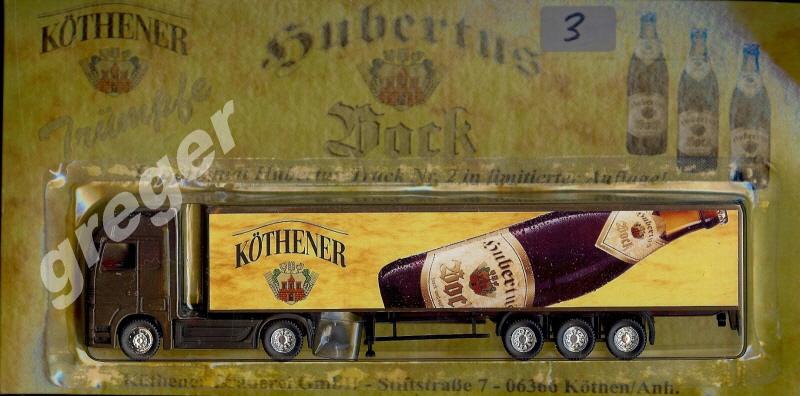 Bier- Werbetruck - LKW Biertruck Köthener Hubertus Bock Nr.3
