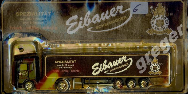 Bier-Werbetruck-LKW- Eibauer     Art. Nr.6