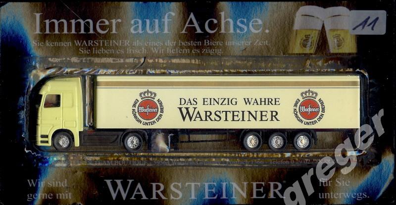 Bier-Werbetruck-LKW- Warsteiner     Nr.11