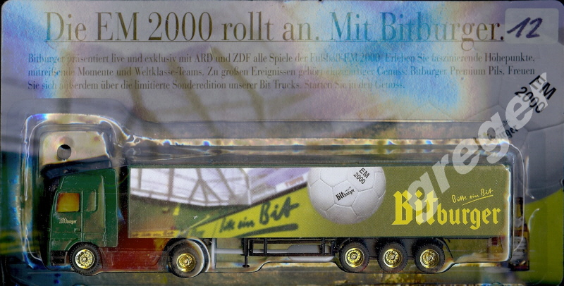Bier-Werbetruck-LKW- Bitburger     Nr.12