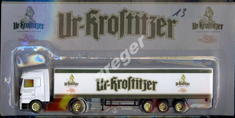 Bier-Werbetruck-LKW- Ur-Krostitzer     Nr.13