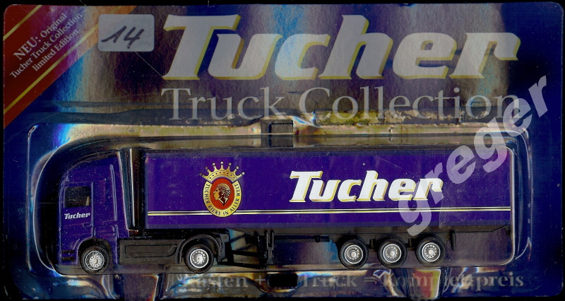 Bier-Werbetruck-LKW-Tucher Truck Collection    Nr.14