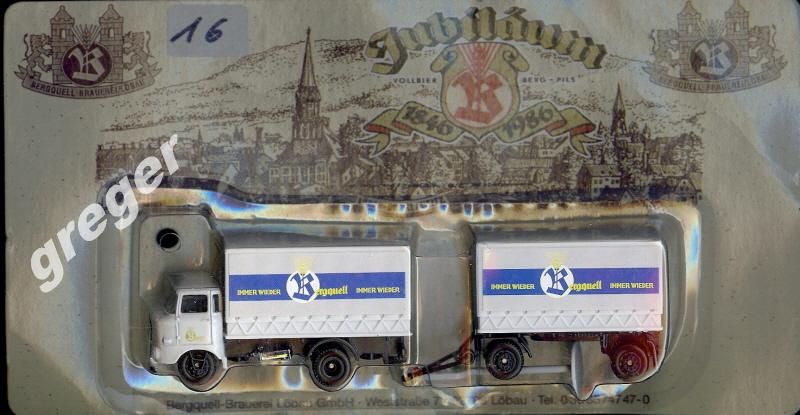 Getränke-Werbetruck-LKW  Berguell.Sachsen   Nr.16
