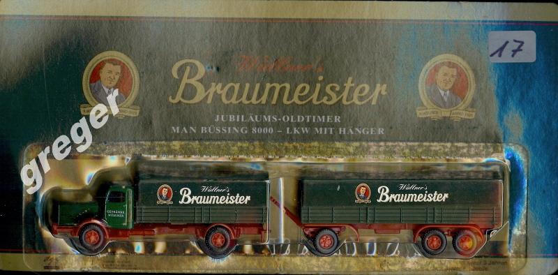 Bier-Werbetruck-LKW  Wüllner´s Braumeister     Nr.17