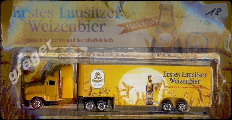 Bier-Werbetruck-LKW   erstes Lausitzer Weizenbier    Nr.18
