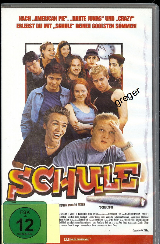 VHS Video Film Schule    Nr. 35