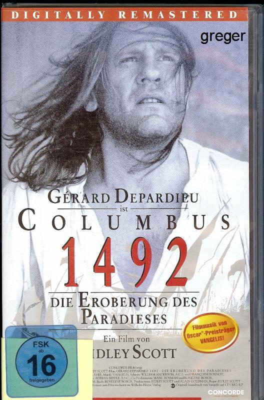 VHS Video Film- 1492 die Eroberung des Paradieses     41