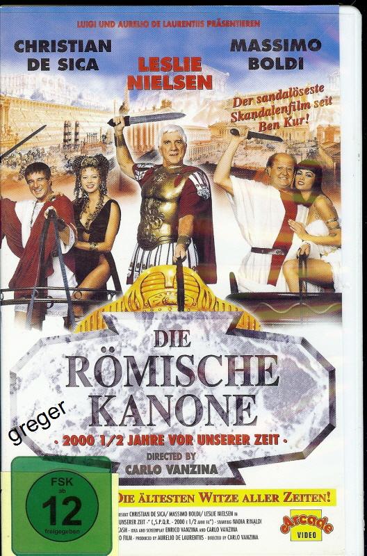 VHS Video Film- Die Römische Kanone - 45