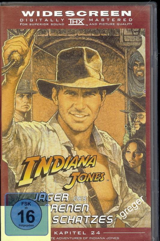 VHS Video Film- Jäger des verlorenen Schatzes    49