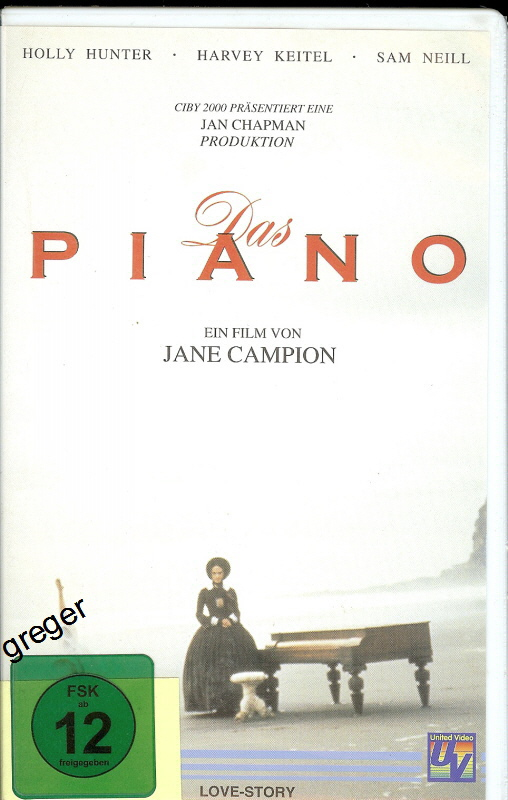 VHS-Video-Film  Das Piano    48