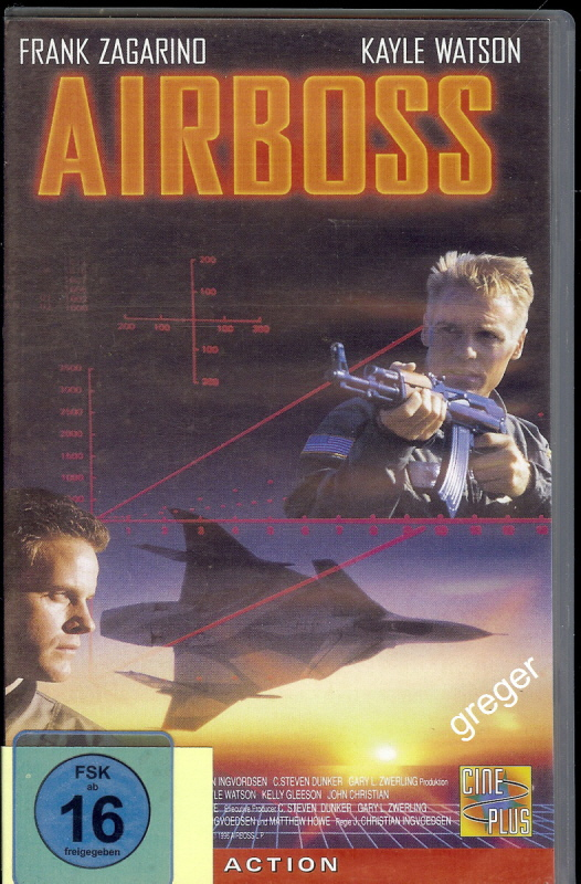 VHS Video Film- Airboss    51