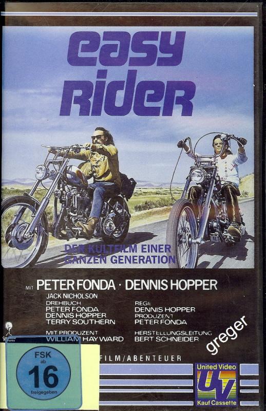 VHS Video Film-   Easy Rider      53