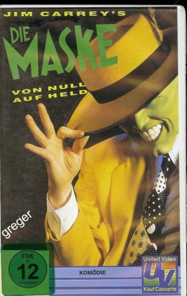 VHS Video Film-   Die Maske    59