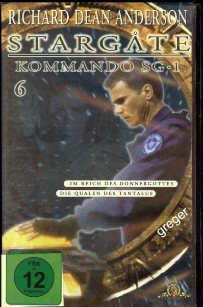 VHS Video Film-  Stargate Kommando SG 1     Nr.65
