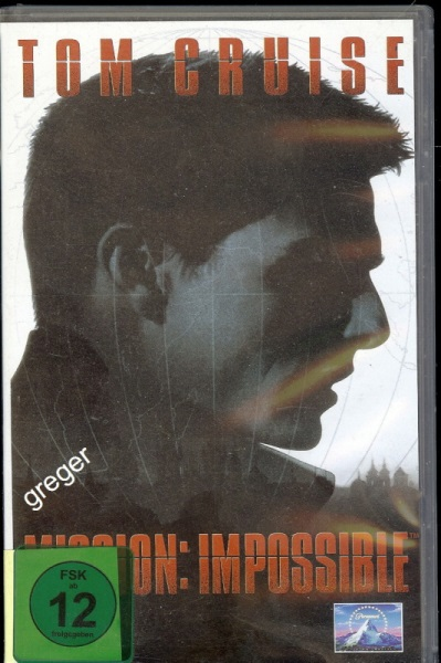 VHS Video Film-  VHS Video Mission: Impossible    Nr.66