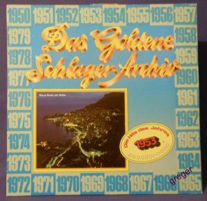 LP Die Hits des Jahres 1953   Nr.4