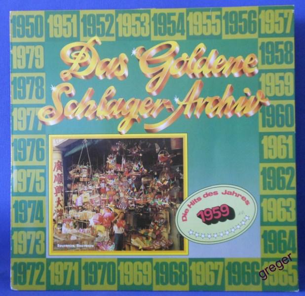 LP Die Hits des Jahres   1959  Nr.10