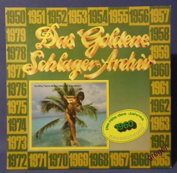 LP Die Hits des Jahres  1960  Nr.11