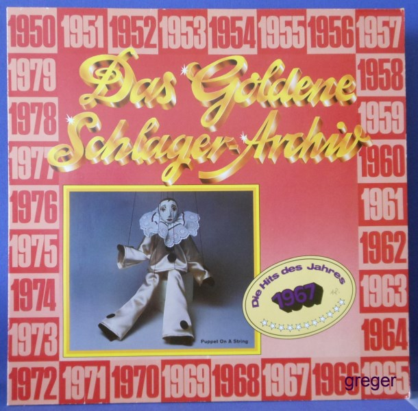 LP Die Hits des Jahres  1967  Nr.18