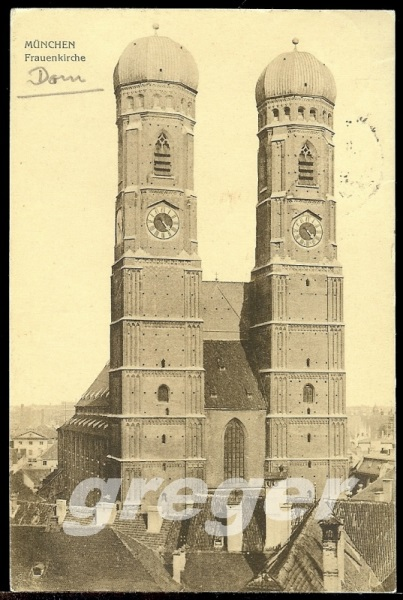 AK Deutsches Reich München Frauenkirche -  7/6