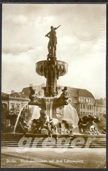 AK Deutsches Reich 1928 Berlin, Herkulesbrunnen - 8/8
