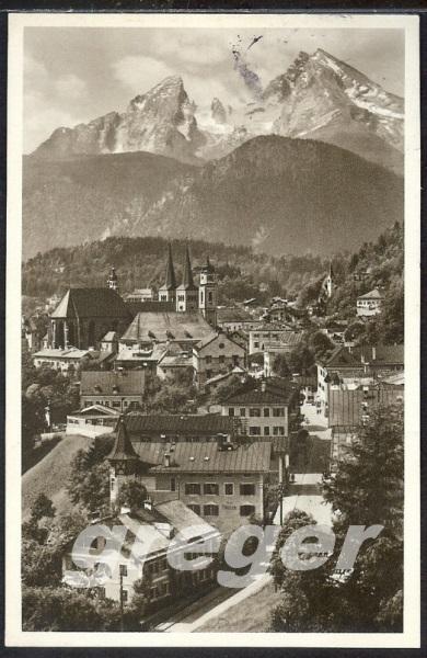 AK Deutsches Reich Berchtesgaden mit Watzmann  -  8/31