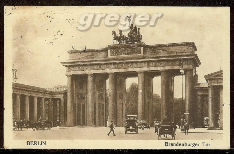 AK Deutsches Reich Berlin, Brandenburger Tor  -  97e