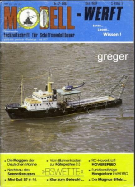 Modellwerft 12/87