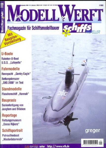 Modell Werft     9/00 a