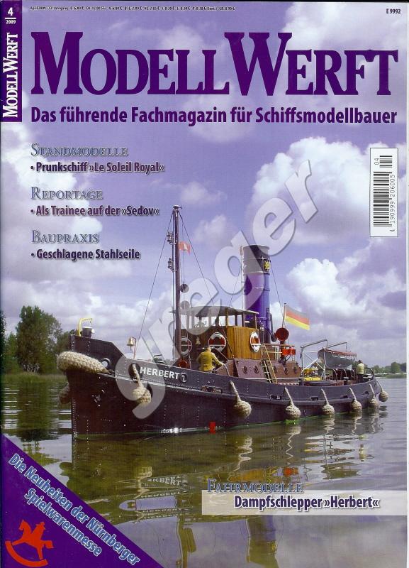 Modell Werft     4/09 b