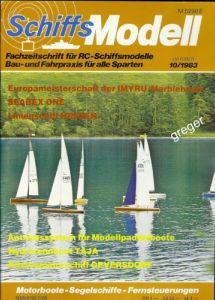 Schiffsmodell     10/83 a