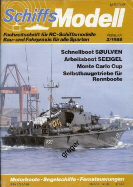 Schiffsmodell   2/88 a