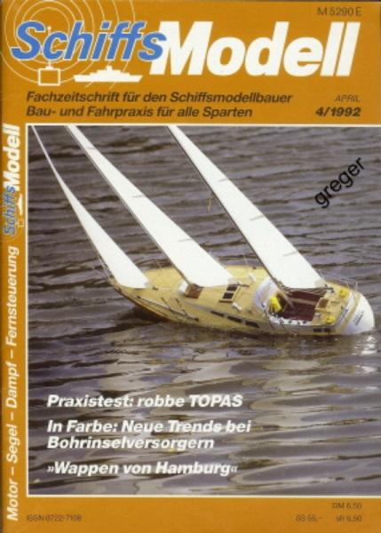 Schiffsmodell 4/92 a