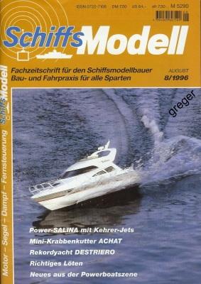 Schiffsmodell  8/96 a