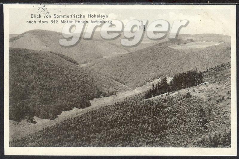 AK Deutsches Reich Blick von der Hoheleye nach dem Asterberg  13/31