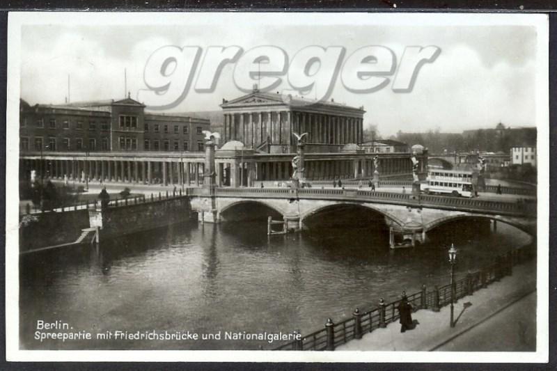 AK Deutsches Reich 1934 Berlin Friedrichsbrücke     20/6