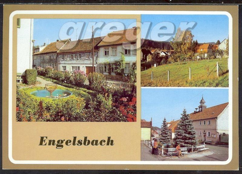 AK DDR Engelsbach In Thüringen, Mehrbild  22/14