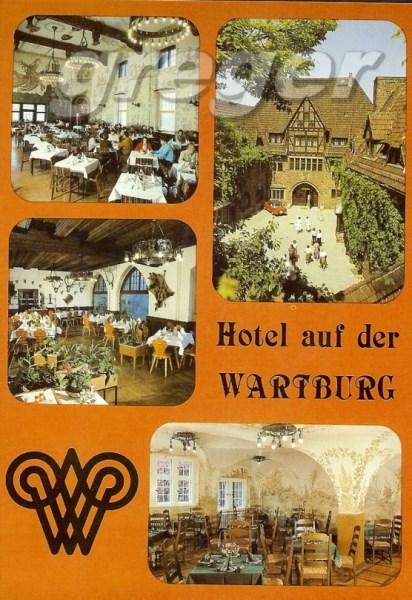 AK DDR Hotel auf der Wartburg   22/31
