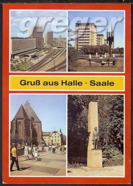 AK DDR Gruß aus Halle Saale    23/22