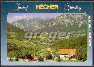 AK Österreich,  Im Kurgebiet Reichenau an der Rax, Gasthof Hecher   26/50