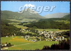 AK Hermagor, gegen Presseggersee und Dobratsch in Kärnten   29/17